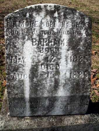 BARHAM, ELMORE GORDON - Nevada County, Arkansas   ELMORE GORDON BARHAM - Arkansas Gravestone Photos