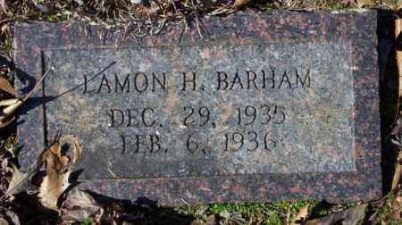 BARHAM, LAMON H. - Nevada County, Arkansas | LAMON H. BARHAM - Arkansas Gravestone Photos