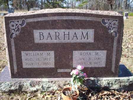 BARHAM, ROSA M - Nevada County, Arkansas | ROSA M BARHAM - Arkansas Gravestone Photos