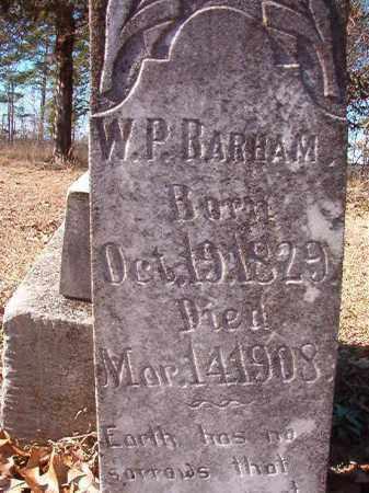 BARHAM, W P - Nevada County, Arkansas | W P BARHAM - Arkansas Gravestone Photos