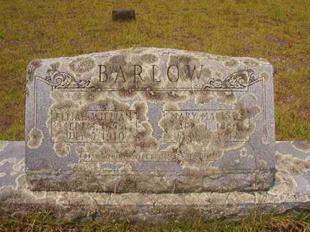 BARLOW, ELIJAH WILLIAM - Nevada County, Arkansas | ELIJAH WILLIAM BARLOW - Arkansas Gravestone Photos