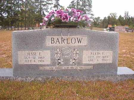 BARLOW, JESSE E - Nevada County, Arkansas | JESSE E BARLOW - Arkansas Gravestone Photos