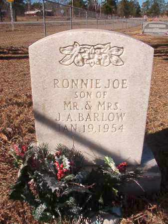 BARLOW, RONNIE JOE - Nevada County, Arkansas | RONNIE JOE BARLOW - Arkansas Gravestone Photos