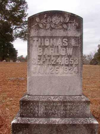 BARLOW, THOMAS L - Nevada County, Arkansas | THOMAS L BARLOW - Arkansas Gravestone Photos