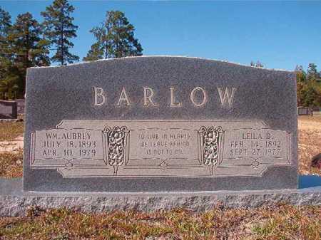 BARLOW, LEILA D - Nevada County, Arkansas | LEILA D BARLOW - Arkansas Gravestone Photos