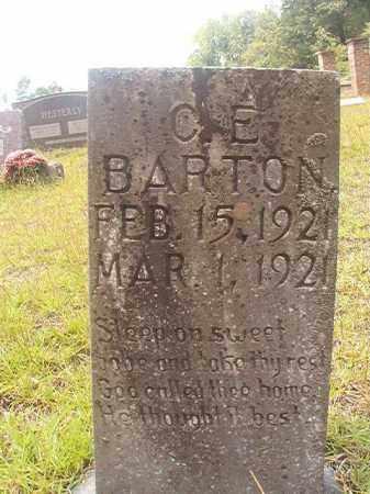BARTON, C E - Nevada County, Arkansas   C E BARTON - Arkansas Gravestone Photos