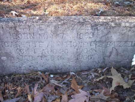 BAZZELLE, CURTIS WAYNE - Nevada County, Arkansas | CURTIS WAYNE BAZZELLE - Arkansas Gravestone Photos