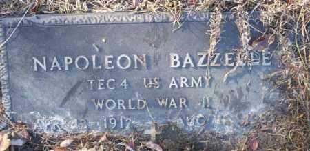 BAZZELL  (VETERAN WWII), NAPOLEON - Nevada County, Arkansas | NAPOLEON BAZZELL  (VETERAN WWII) - Arkansas Gravestone Photos