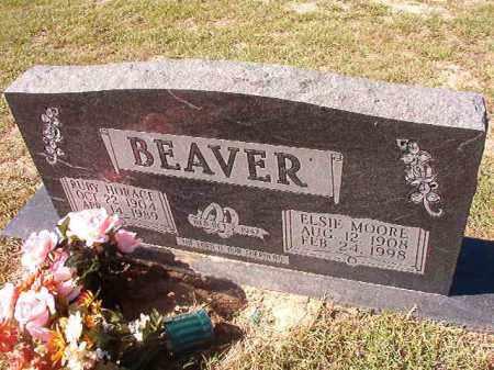 BEAVER, ELSIE - Nevada County, Arkansas | ELSIE BEAVER - Arkansas Gravestone Photos