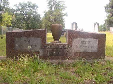 BEAVER, TOM - Nevada County, Arkansas | TOM BEAVER - Arkansas Gravestone Photos