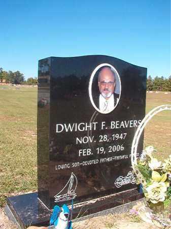 BEAVERS, DWIGHT F - Nevada County, Arkansas   DWIGHT F BEAVERS - Arkansas Gravestone Photos