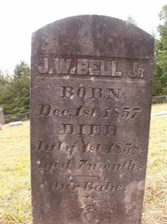 BELL, JR, J W - Nevada County, Arkansas | J W BELL, JR - Arkansas Gravestone Photos