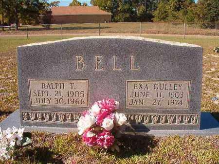 GULLEY BELL, EXA - Nevada County, Arkansas | EXA GULLEY BELL - Arkansas Gravestone Photos