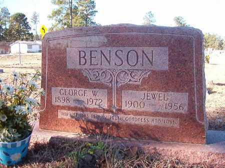 BENSON, JEWEL - Nevada County, Arkansas   JEWEL BENSON - Arkansas Gravestone Photos