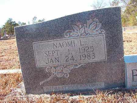 BENTON, NAOMI L - Nevada County, Arkansas | NAOMI L BENTON - Arkansas Gravestone Photos