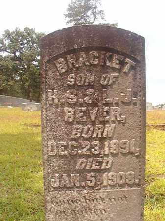 BEVER, BRACKET - Nevada County, Arkansas   BRACKET BEVER - Arkansas Gravestone Photos