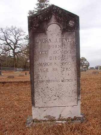 BEVER, LAURA J - Nevada County, Arkansas | LAURA J BEVER - Arkansas Gravestone Photos