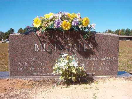 MOSELEY BILLINGSLEY, MARY GLADYS - Nevada County, Arkansas | MARY GLADYS MOSELEY BILLINGSLEY - Arkansas Gravestone Photos