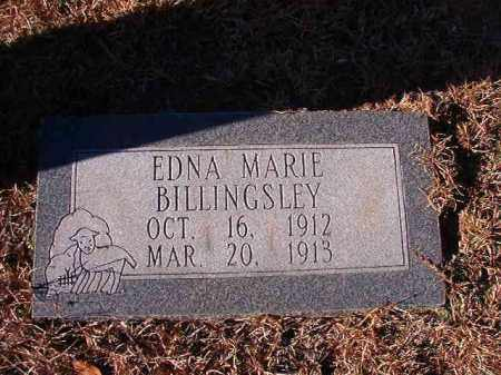BILLINGSLEY, EDNA MARIE - Nevada County, Arkansas | EDNA MARIE BILLINGSLEY - Arkansas Gravestone Photos