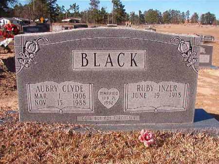 BLACK, AUBRY CLYDE - Nevada County, Arkansas   AUBRY CLYDE BLACK - Arkansas Gravestone Photos