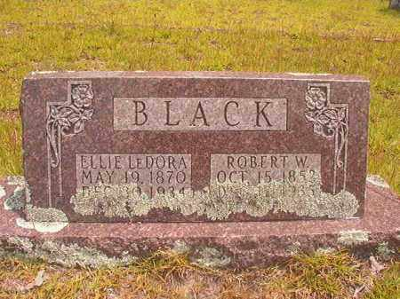 BLACK, ROBERT W - Nevada County, Arkansas | ROBERT W BLACK - Arkansas Gravestone Photos