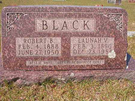 BLACK, LAUNAH V - Nevada County, Arkansas | LAUNAH V BLACK - Arkansas Gravestone Photos