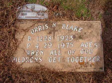 BLAKE, ORRIS N - Nevada County, Arkansas | ORRIS N BLAKE - Arkansas Gravestone Photos