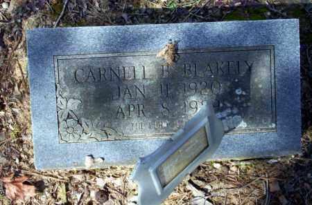 BLAKELY, CARNELL B - Nevada County, Arkansas   CARNELL B BLAKELY - Arkansas Gravestone Photos