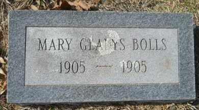BOLLS, MARY GLADYS - Nevada County, Arkansas | MARY GLADYS BOLLS - Arkansas Gravestone Photos