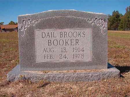 BOOKER, DAIL - Nevada County, Arkansas | DAIL BOOKER - Arkansas Gravestone Photos