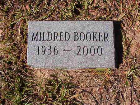 BOOKER, MILDRED - Nevada County, Arkansas | MILDRED BOOKER - Arkansas Gravestone Photos