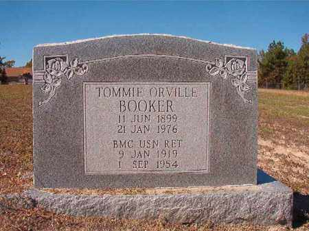 BOOKER (VETERAN), TOMMIE ORVILLE - Nevada County, Arkansas | TOMMIE ORVILLE BOOKER (VETERAN) - Arkansas Gravestone Photos