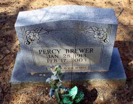 BREWER, PERCY - Nevada County, Arkansas | PERCY BREWER - Arkansas Gravestone Photos