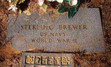 BREWER (VETERAN WWII), STERLING - Nevada County, Arkansas | STERLING BREWER (VETERAN WWII) - Arkansas Gravestone Photos