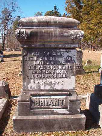 BRIANT, NANCY J - Nevada County, Arkansas | NANCY J BRIANT - Arkansas Gravestone Photos