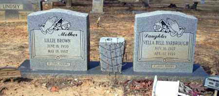 YARBROUGH, VELLA BELL - Nevada County, Arkansas | VELLA BELL YARBROUGH - Arkansas Gravestone Photos