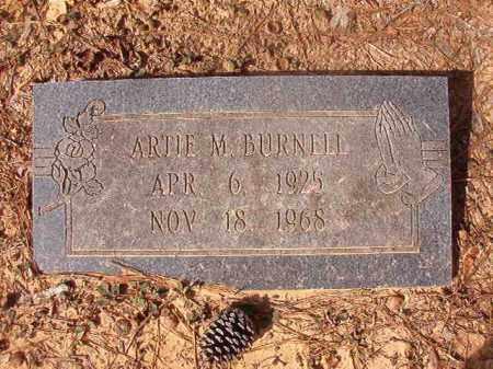 BURNELL, ARTIE M - Nevada County, Arkansas   ARTIE M BURNELL - Arkansas Gravestone Photos