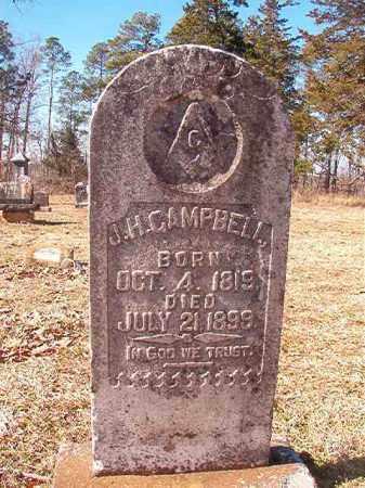 CAMPBELL, J H - Nevada County, Arkansas | J H CAMPBELL - Arkansas Gravestone Photos