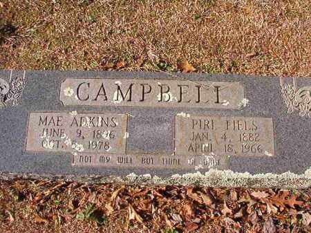 ADKINS CAMPBELL, MAE - Nevada County, Arkansas | MAE ADKINS CAMPBELL - Arkansas Gravestone Photos