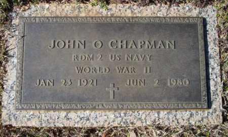 CHAPMAN  (VETERAN WWII), JOHN O. - Nevada County, Arkansas | JOHN O. CHAPMAN  (VETERAN WWII) - Arkansas Gravestone Photos