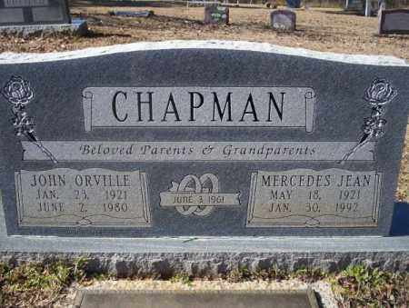 CHAPMAN, JOHN ORVILLE - Nevada County, Arkansas | JOHN ORVILLE CHAPMAN - Arkansas Gravestone Photos