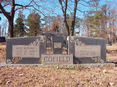 COFIELD, PAUL HOWARD - Nevada County, Arkansas | PAUL HOWARD COFIELD - Arkansas Gravestone Photos