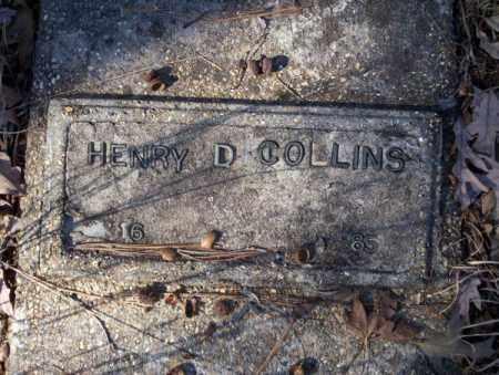 COLLINS, HENRY D - Nevada County, Arkansas   HENRY D COLLINS - Arkansas Gravestone Photos