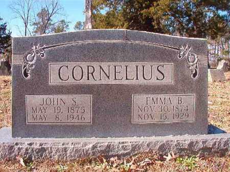 CORNELIUS, EMMA B - Nevada County, Arkansas   EMMA B CORNELIUS - Arkansas Gravestone Photos