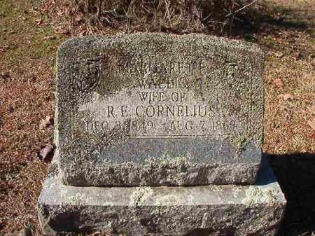 CORNELIUS, MARGARET F - Nevada County, Arkansas | MARGARET F CORNELIUS - Arkansas Gravestone Photos