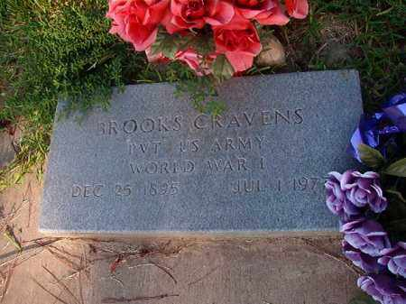 CRAVENS (VETERAN WWI), BROOKS - Nevada County, Arkansas | BROOKS CRAVENS (VETERAN WWI) - Arkansas Gravestone Photos