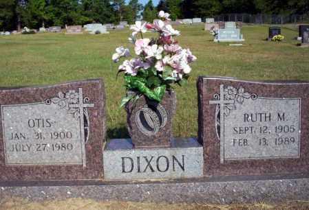 DIXON, OTIS - Nevada County, Arkansas | OTIS DIXON - Arkansas Gravestone Photos