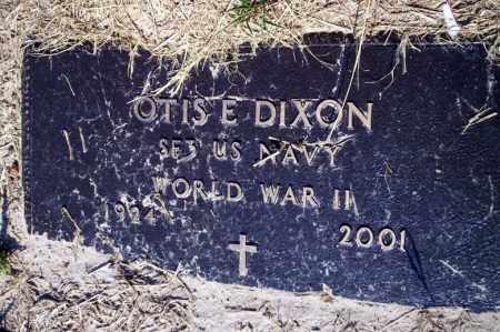 DIXON (VETERAN WWII), OTIS E - Nevada County, Arkansas   OTIS E DIXON (VETERAN WWII) - Arkansas Gravestone Photos