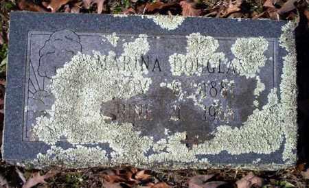 DOUGLASS, MARINA - Nevada County, Arkansas | MARINA DOUGLASS - Arkansas Gravestone Photos