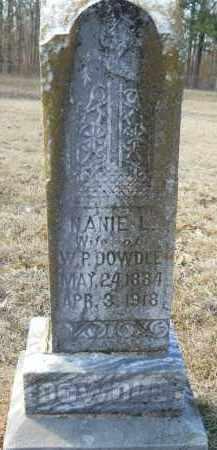 DOWDLE, NANIE L - Nevada County, Arkansas   NANIE L DOWDLE - Arkansas Gravestone Photos